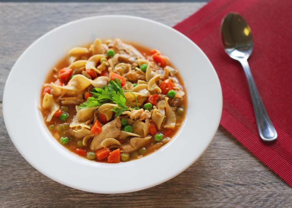 Old-Fashion Chicken Noodle Soup