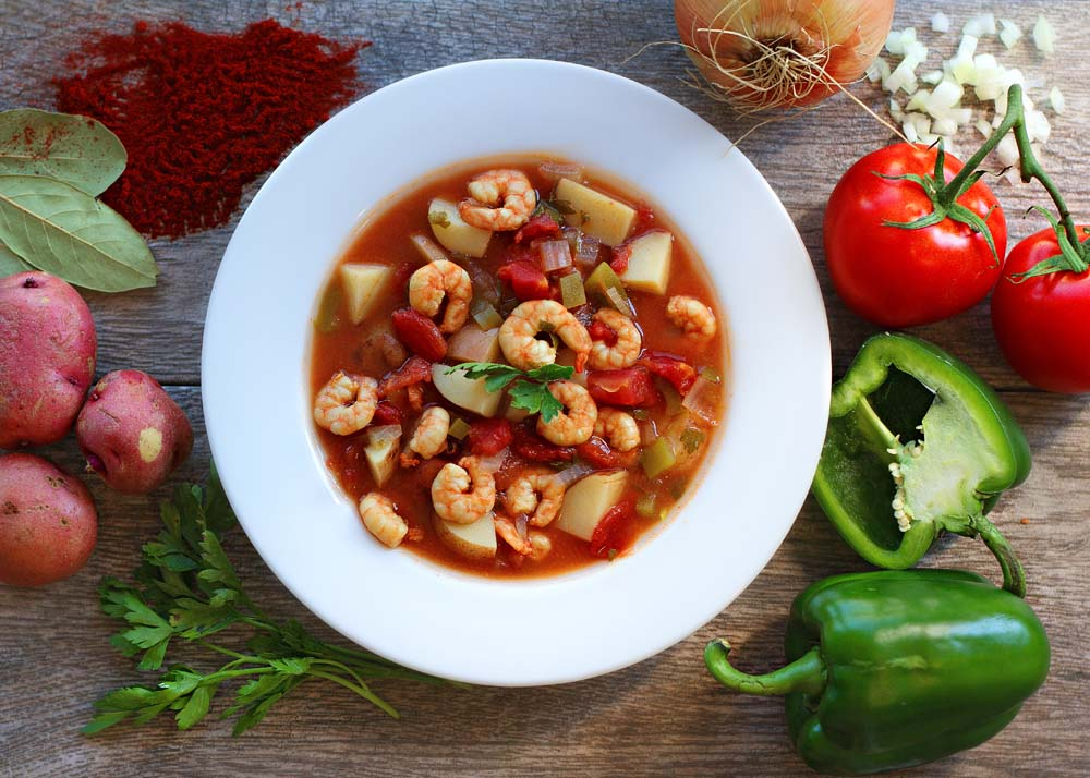 Southern shrimp chowder cuisine for healing for Cuisine for healing