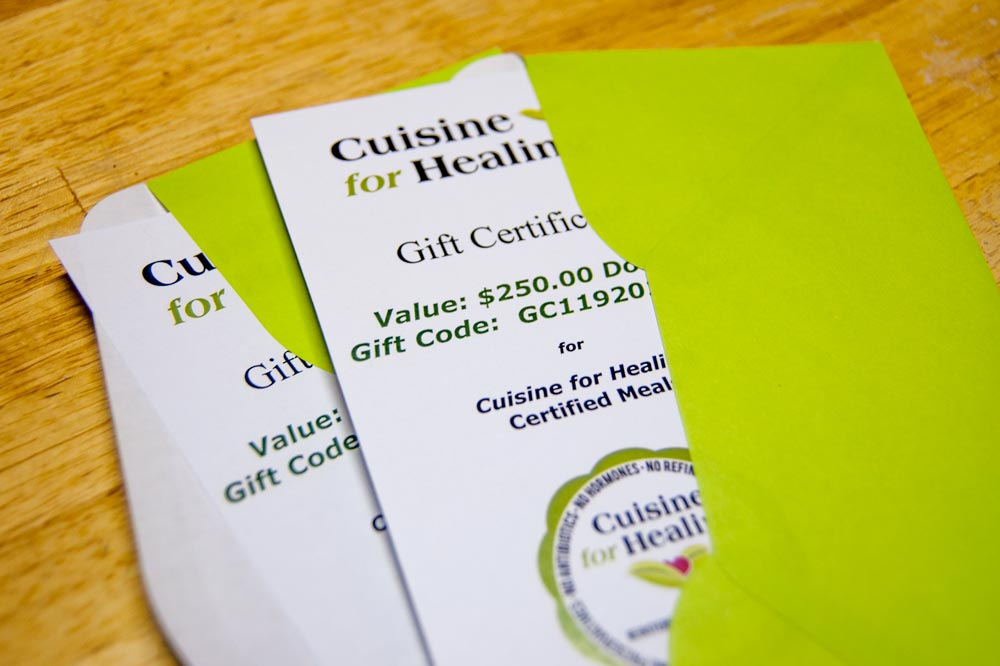photo of Gift Certificates