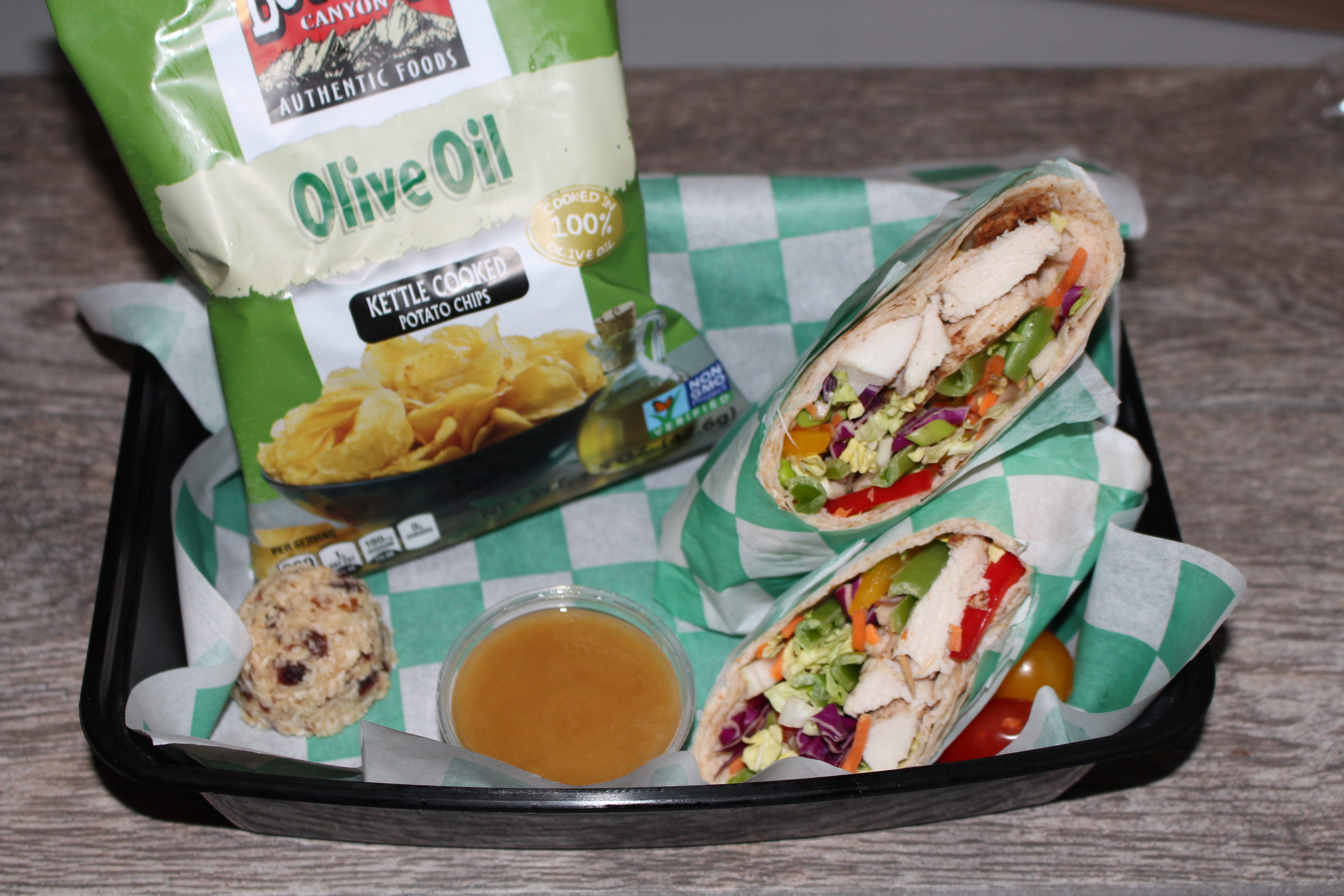 Asian salad wrap with chips cuisine for healing for Cuisine for healing